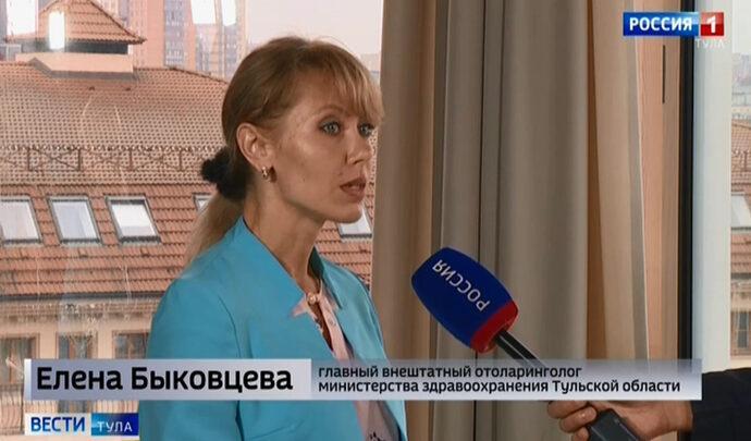 Интервью. Елена Быковцева