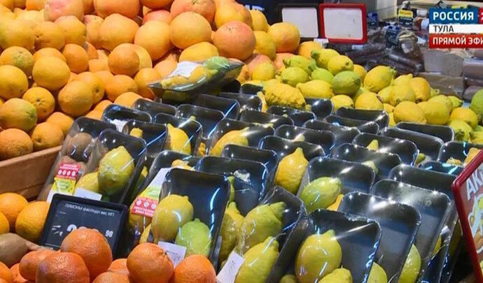 Цитрусовые и картофель сдерживают инфляцию