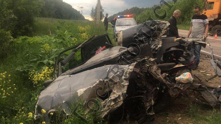 В Кимовском районе в ДТП с грузовиком погиб водитель «Фольксвагена»