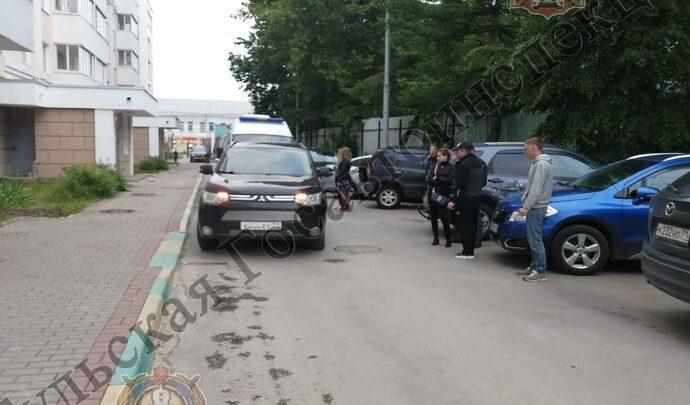 В центре Тулы ребёнок попал под машину