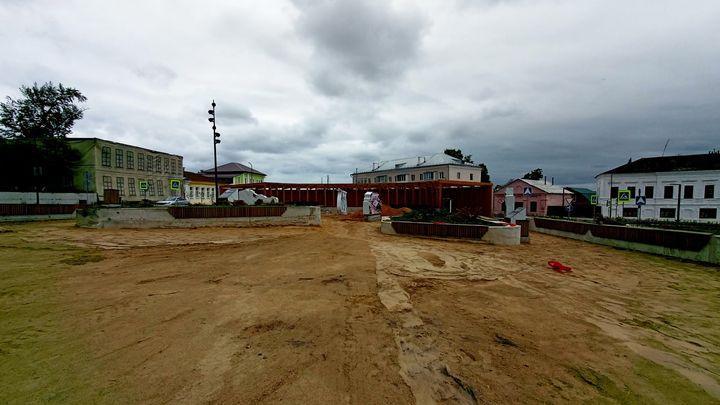 Благоустройство Красной площади в Ефремове: попытка №2