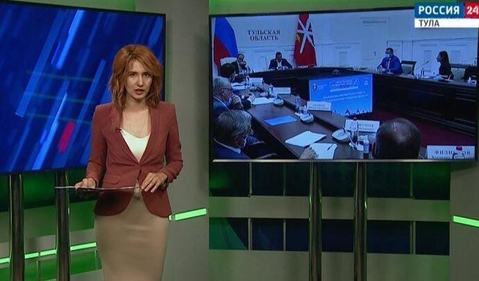 Россия 24 Тула. Эфир от 10.06.2021