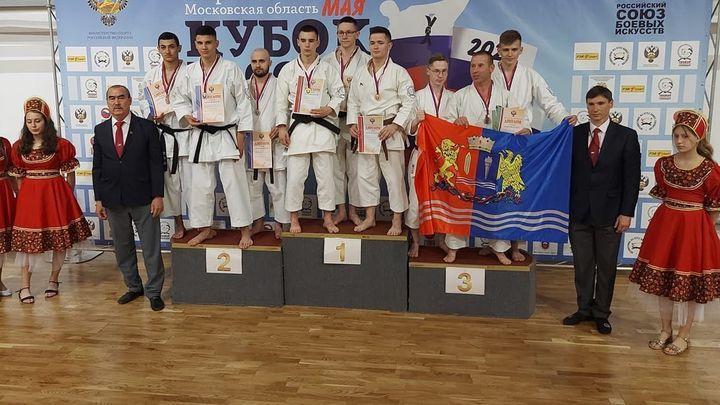Кубок России по командному ката в третий раз уехал в Щёкино