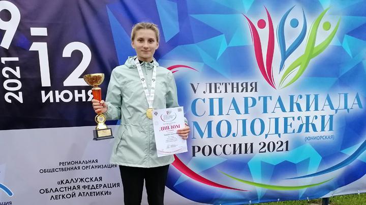 Тульские легкоатлеты вернулись из Калуги с медалями