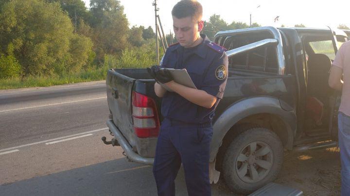 Тульские автоинспекторы остановили машину с двумя трупами