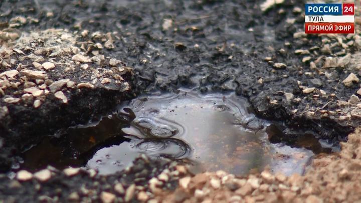 Прокуратура обязала администрацию Тулы рекультивировать землю с мазутом в Комарках.
