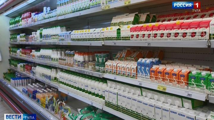 Роспотребнадзор забраковал почти тонну молочной продукции с начала года