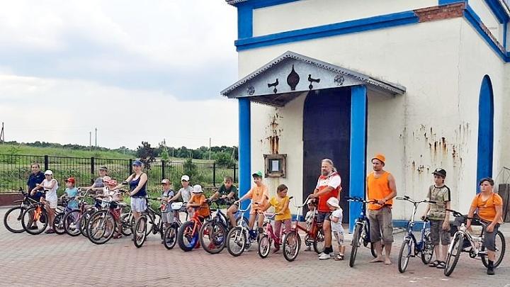 В Куркинском районе прошёл велопробег «От храма к храму»