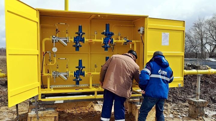 В городском округе Алексин продолжается газификация