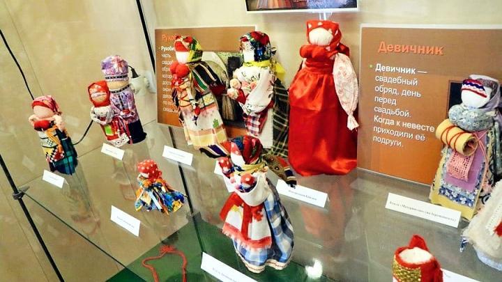 В Новомосковске открылась выставка авторской куклы