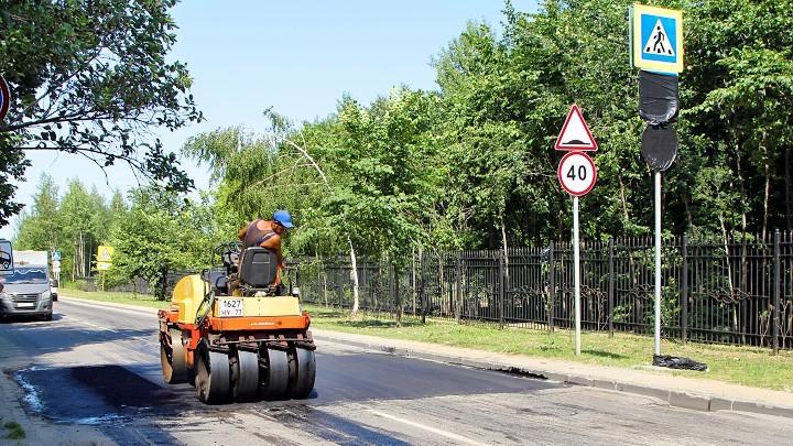 Создание пешеходного перехода в Туле у выхода из Платоновского парка на улице Генерала Маргелова