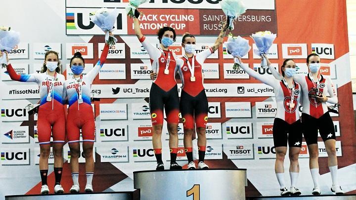 Тульские велогонщики взяли пять медалей на «Кубке наций»