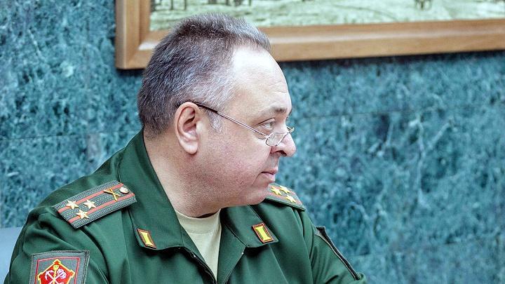 Военный комиссар Тульской области Александр Сафронов