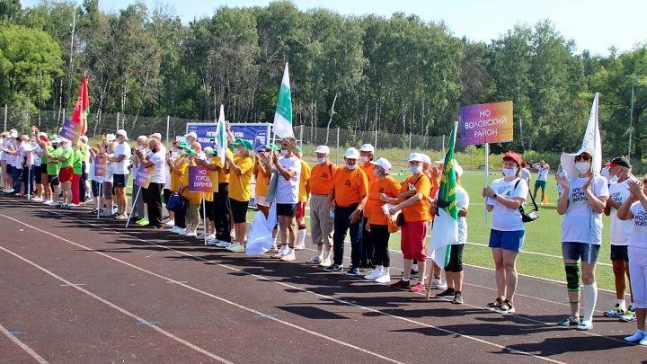 Пенсионеры Тульской области приняли участие в региональной спартакиаде