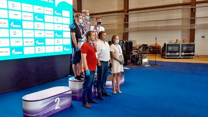 Тульские пловцы взяли серебро и бронзу на этапе Кубка России
