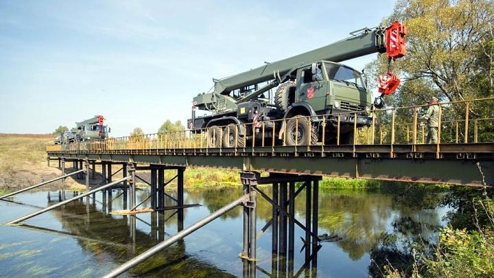 Минобороны восстанавливает мосты в Тульской области