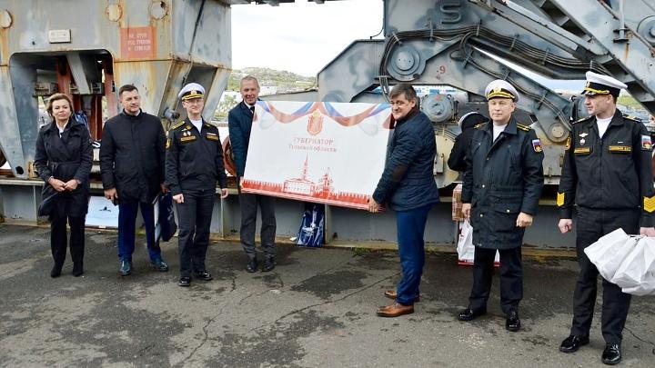Тульская делегация посетила город Гаджиево Мурманской области