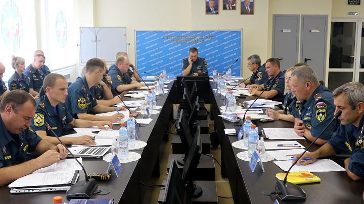 Коллегия ГУ МЧС России по Тульской области