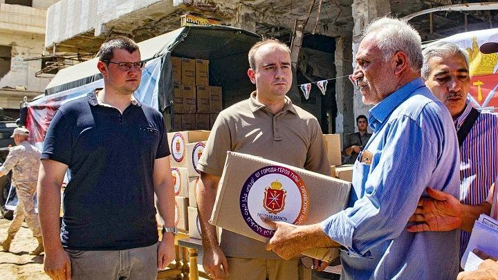 Жители Сирии получили гуманитарную помощь из Тульской области