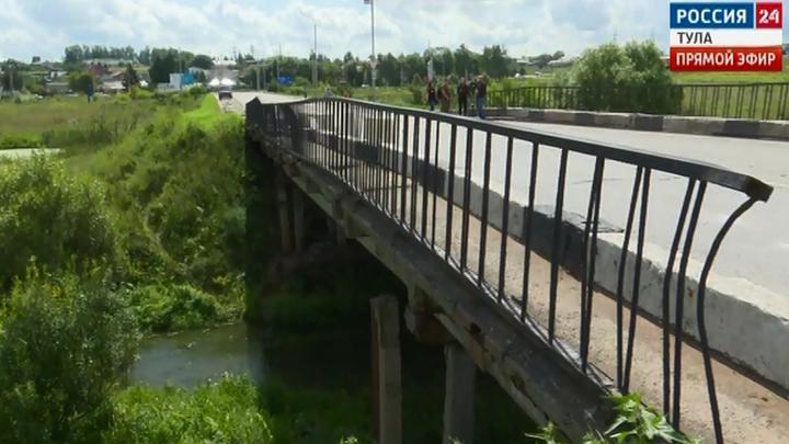 Баташевский мост в Туле начнут ремонтировать в июле