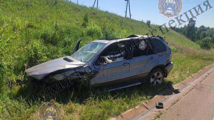 Под Богородицком погиб водитель съехавшей в кювет BMW
