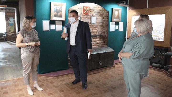 Связь времён: в Тульской области побывала делегация из Калуги
