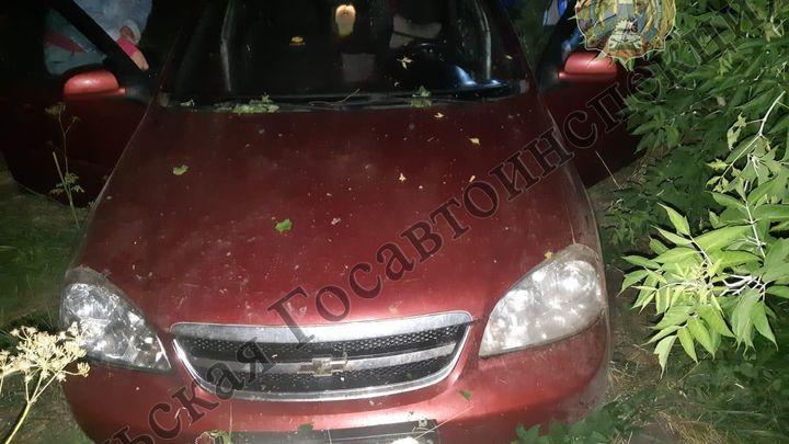 В Куркинском районе водитель госпитализирован после съезда в кювет