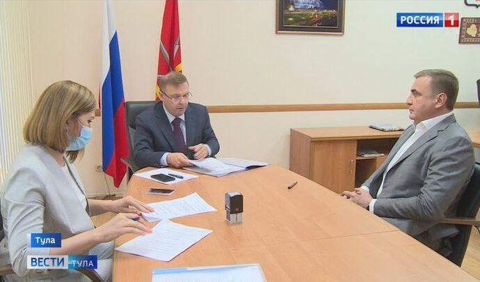 Алексей Дюмин подал документы на участие выборах губернатора