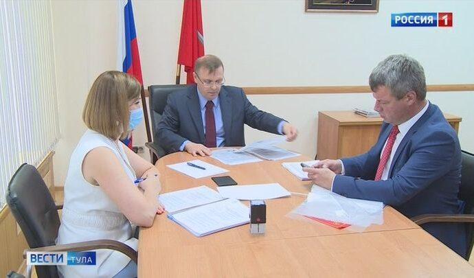 На должность губернатора Тульской области второй кандидат представил свои документы
