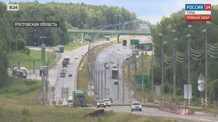 На каких участках трассы М4 идет дорожный ремонт