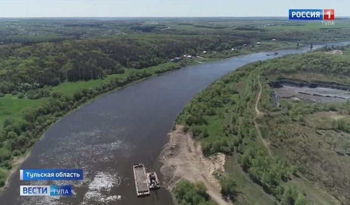 В Алексинском районе 55-летний мужчина утонул в Оке