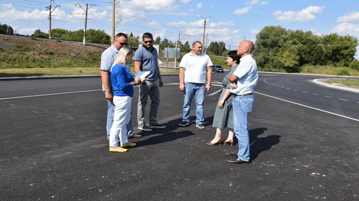 Дорожное «кольцо» в Щекино прошло приемку после ремонта по нацпроекту