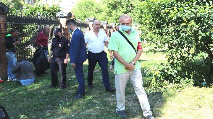 Из сквера в Заречье разогнали нарушителей общественного порядка