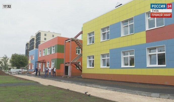 Детский сад на Красноармейском проспекте Тулы сдадут к 1 ноября