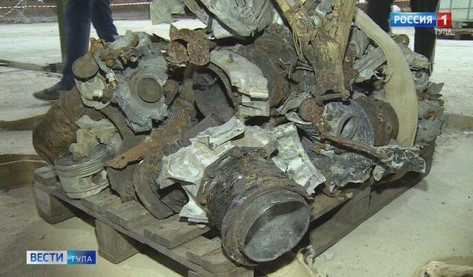 В новой экспозиции музея обороны Тулы появятся останки советского бомбардировщика