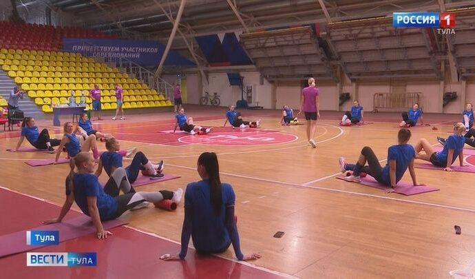 Волейбольный клуб «Тулица» активно готовится к сезону