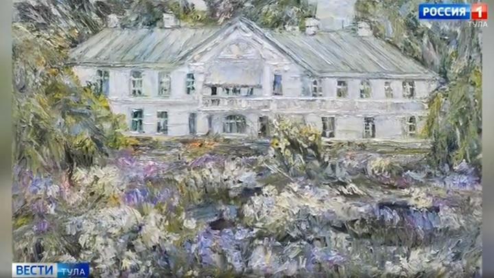 В доме Волконского открылась выставка живописи Александра Петровичева