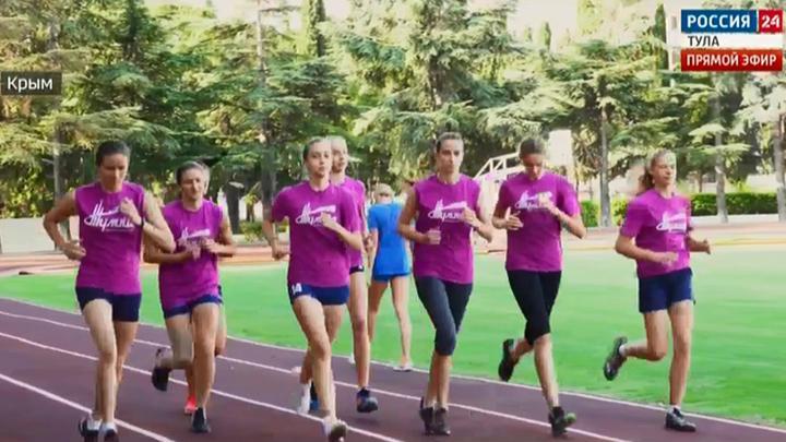 Волейбольный клуб «Тулица» завершил тренировочные сборы в Крыму