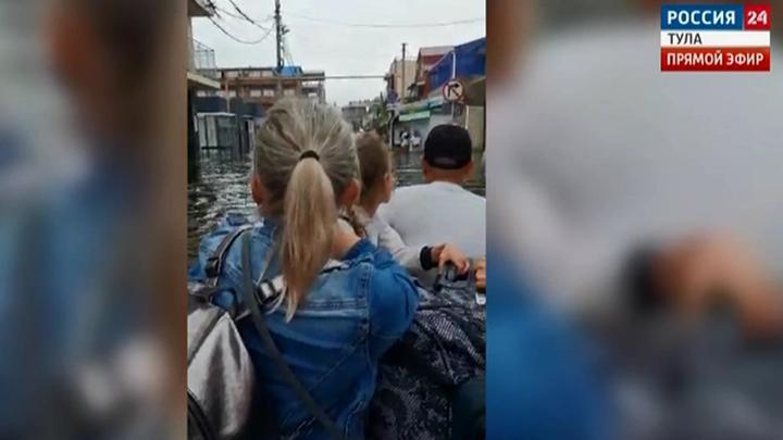 В Краснодарском крае спасли беременную тулячку