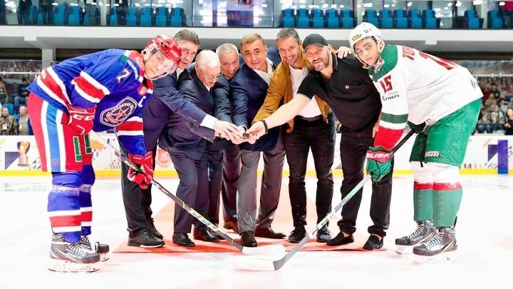 Открытие Кубка губернатора Тульской области по хоккею