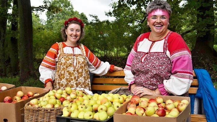 Яблочный Спас в Ясной Поляне