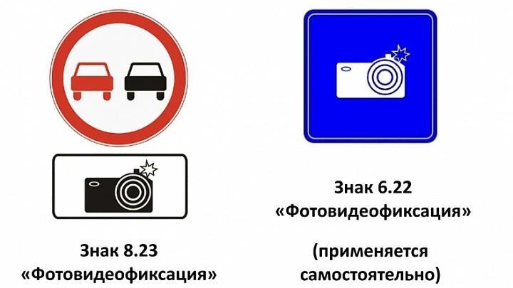 Знаки фотовидеофиксации