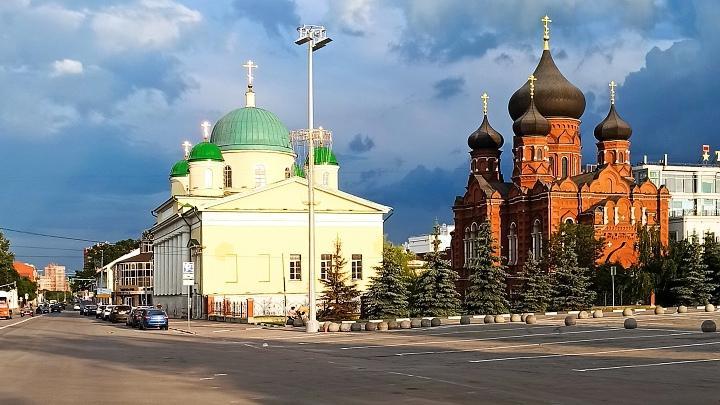 Центр Тулы, улица Менделеевская