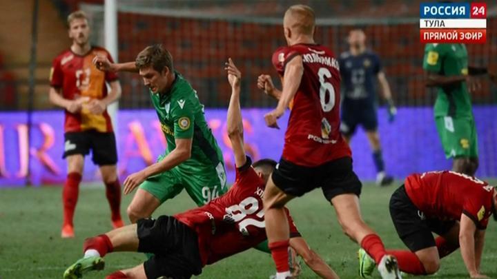 Тульский «Арсенал» потерпел поражение в Грозном