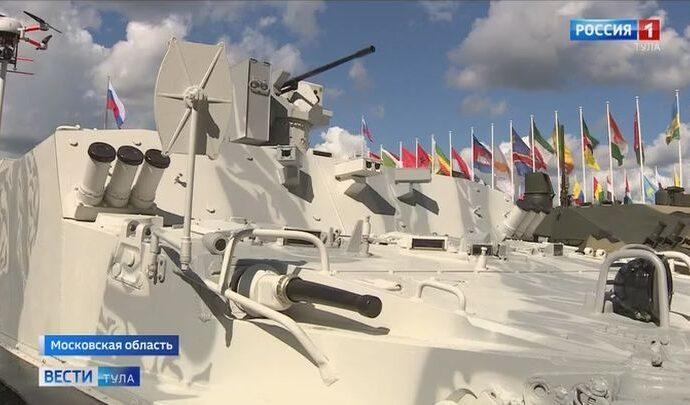 В подмосковном парке «Патриот» начал работу международный форум «Армия 2021»