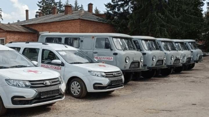 Автопарк Ефремовской районной больницы пополнился новыми машинами