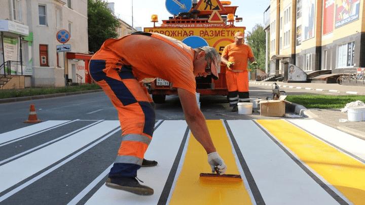 В Новомосковске завершаются работы по программе «Безопасные и качественные дороги»
