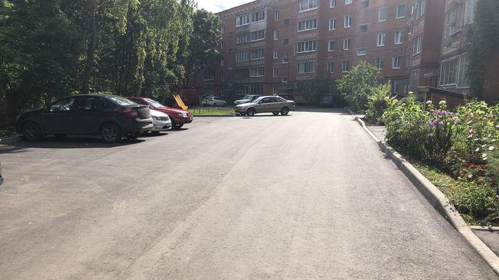 25 дворов в Щекинском районе благоустроят по нацпроекту в 2022 году