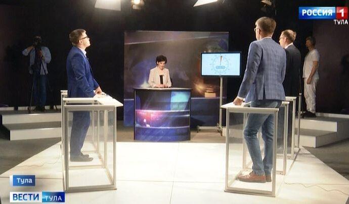 На телеканале «Россия 1» стартовали политические дебаты