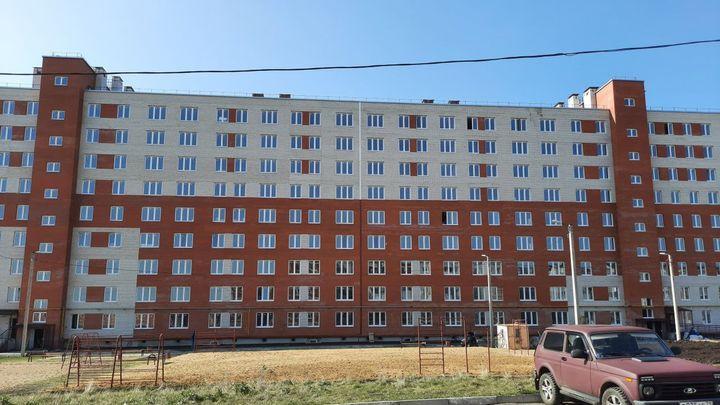 В Кимовске завершается строительство многоэтажки для переселенцев